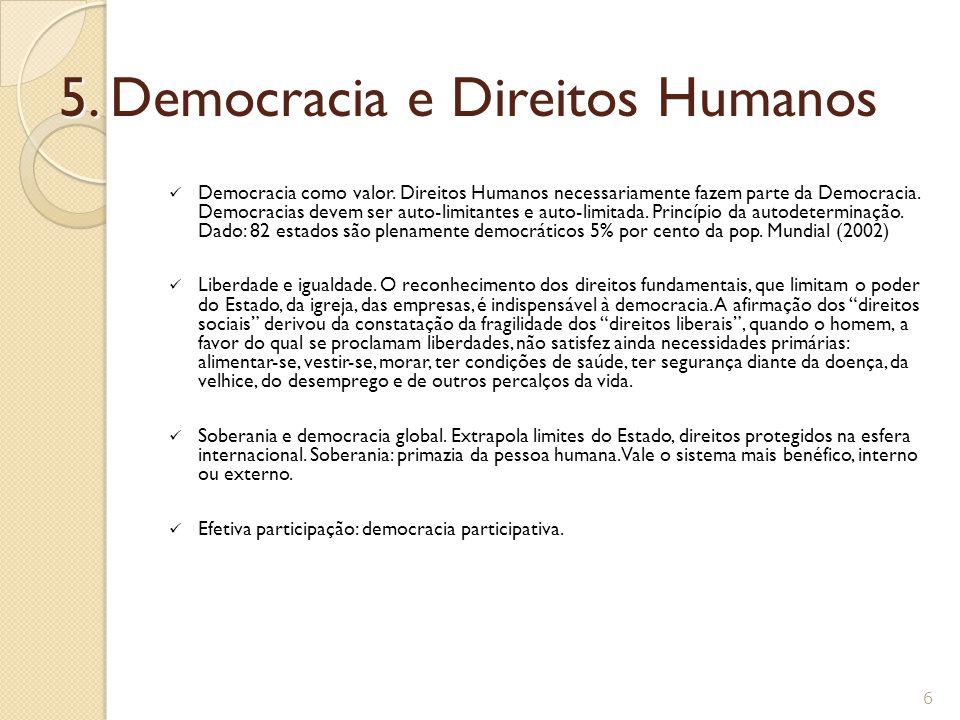 5. Democracia e Direitos Humanos