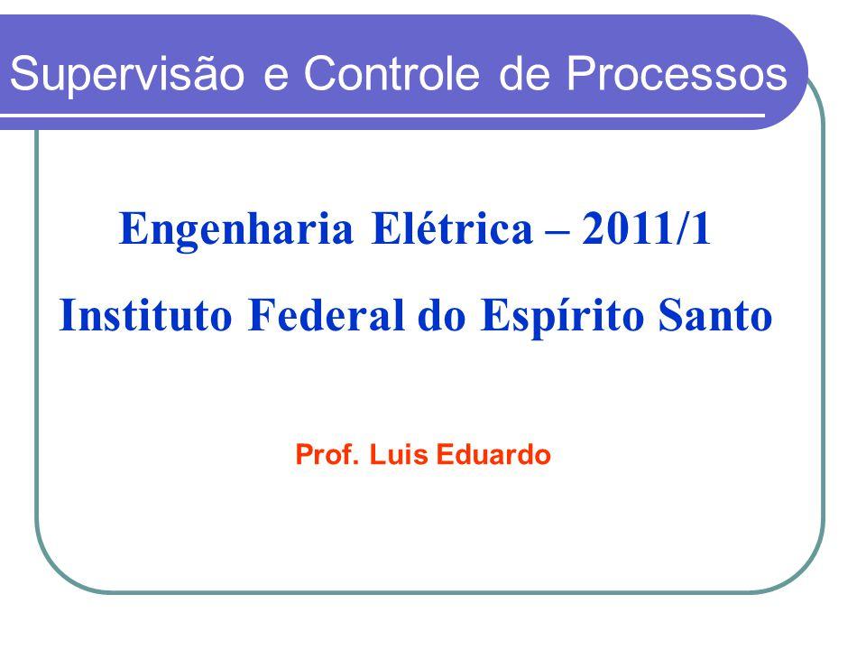 Engenharia Elétrica – 2011/1 Instituto Federal do Espírito Santo