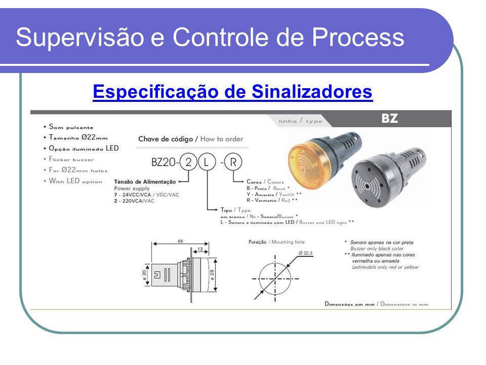 Supervisão e Controle de Process
