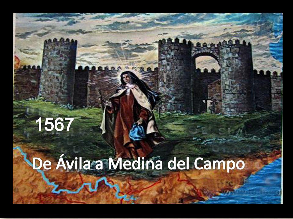 1567 De Ávila a Medina del Campo