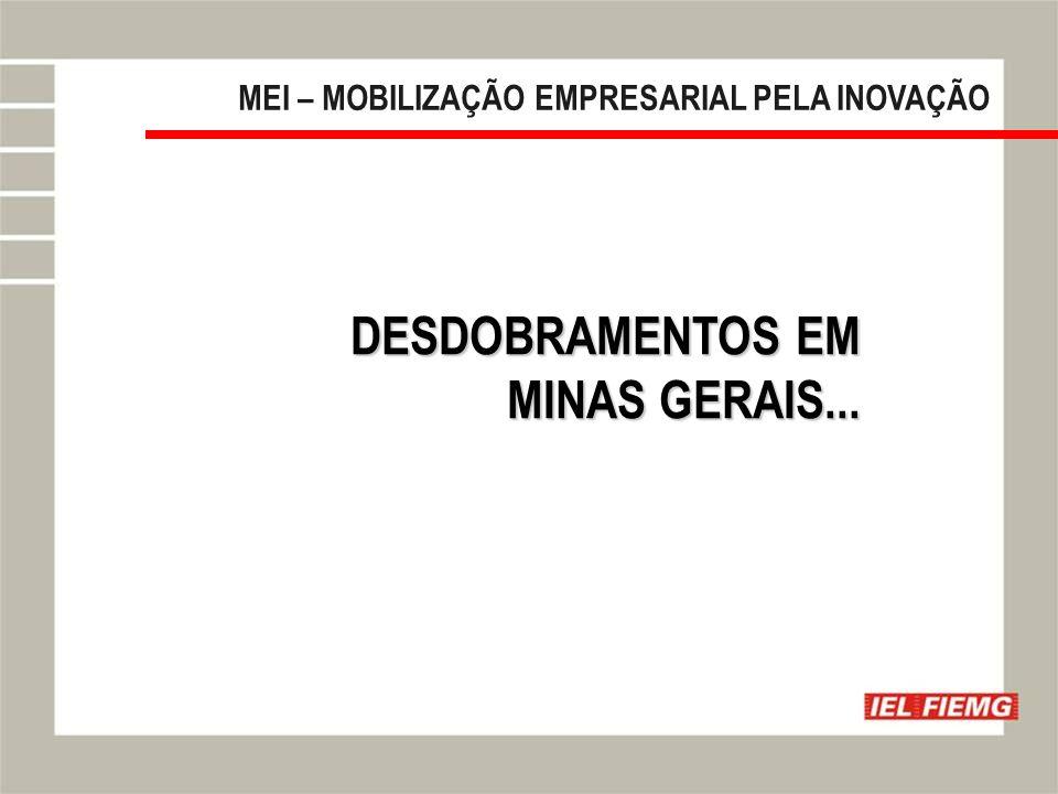 DESDOBRAMENTOS EM MINAS GERAIS...
