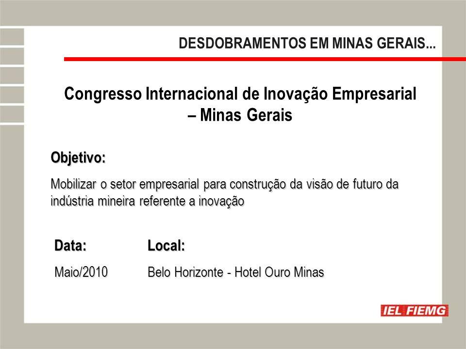 Congresso Internacional de Inovação Empresarial – Minas Gerais