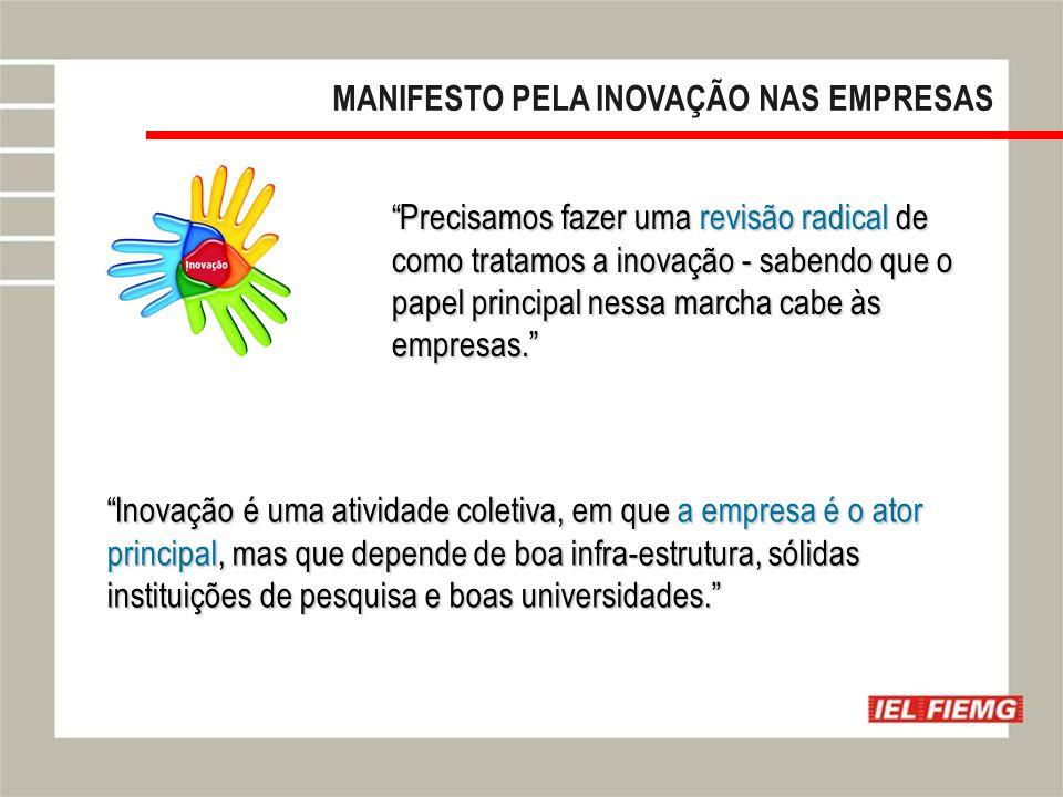 MANIFESTO PELA INOVAÇÃO NAS EMPRESAS