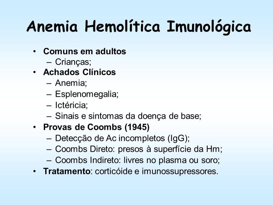 Anemia Hemolítica Imunológica