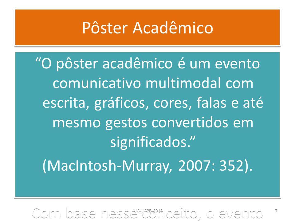 Pôster Acadêmico