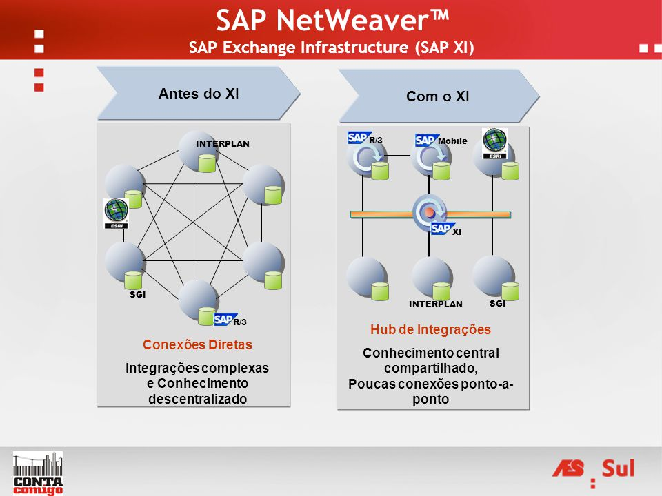 SAP NetWeaver™ SAP Exchange Infrastructure (SAP XI)
