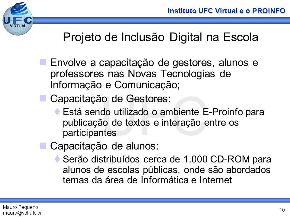 Projeto de Inclusão Digital na Escola