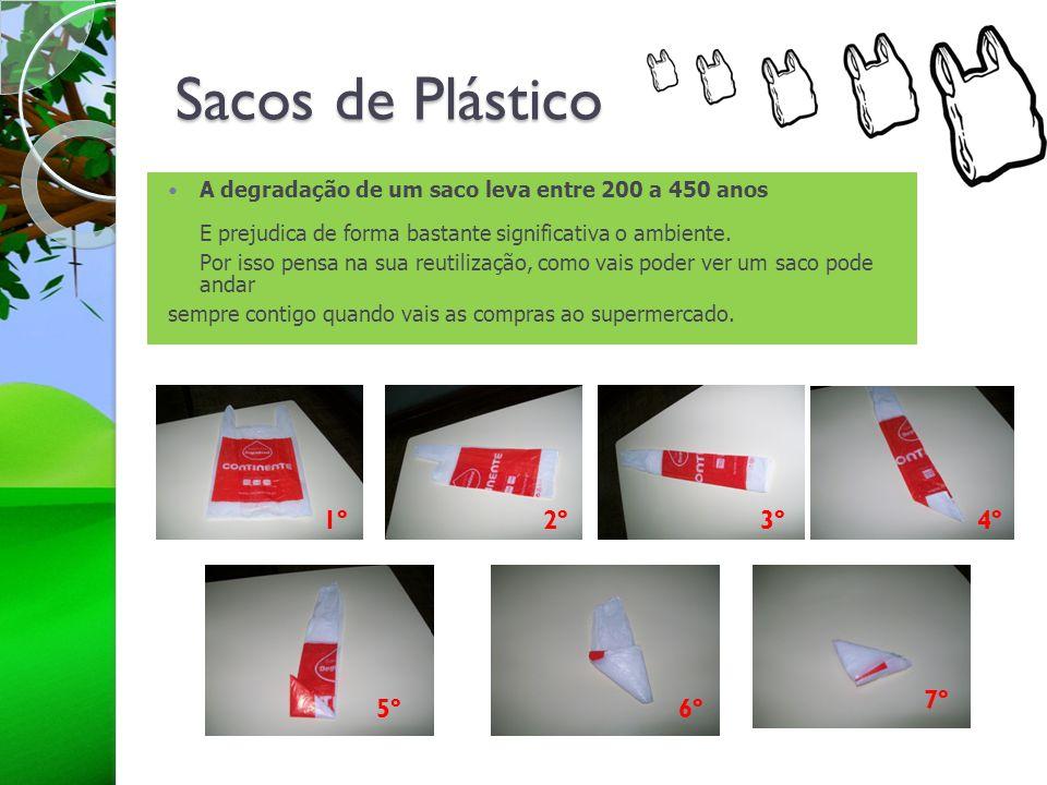 Sacos de Plástico 1º 2º 3º 4º 7º 5º 6º