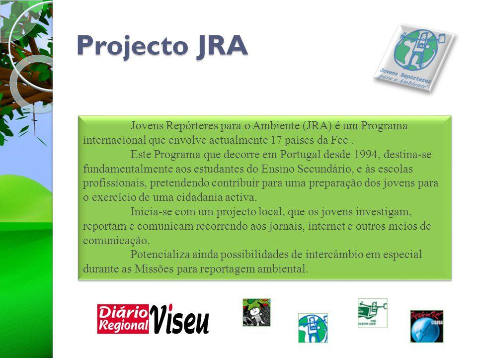 Projecto JRA