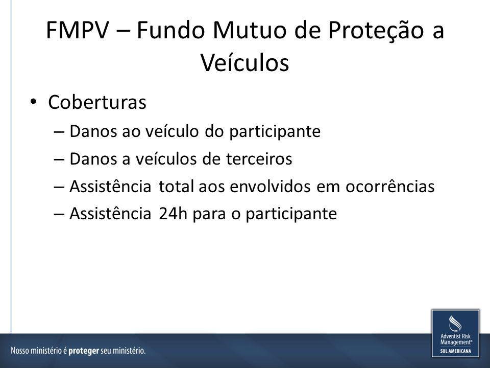 FMPV – Fundo Mutuo de Proteção a Veículos