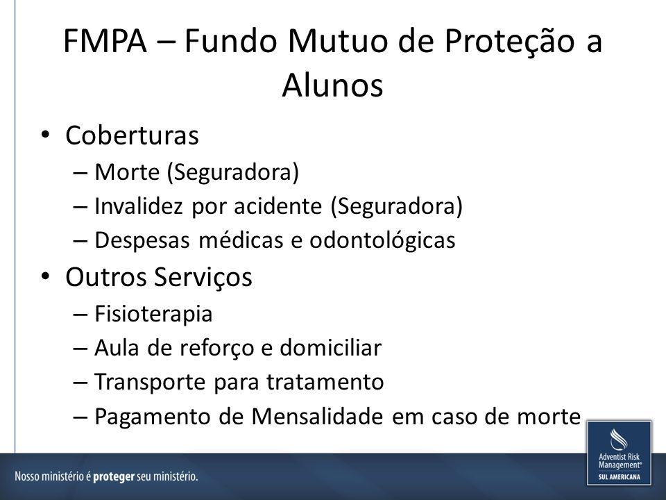FMPA – Fundo Mutuo de Proteção a Alunos