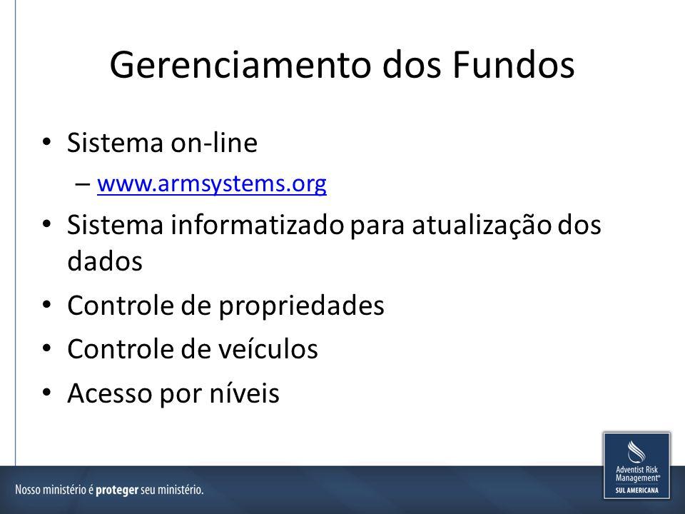 Gerenciamento dos Fundos