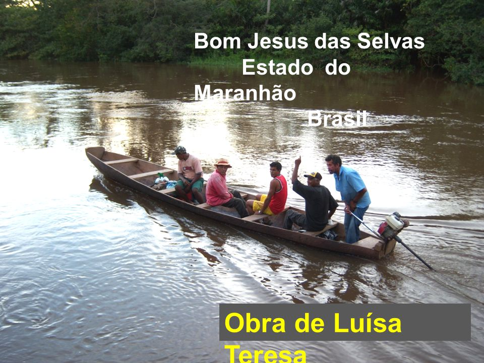 Bom Jesus das Selvas Estado do Maranhão Brasil
