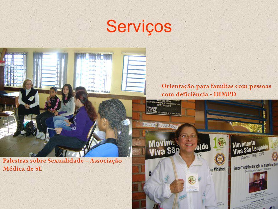 Serviços Orientação para famílias com pessoas com deficiência - DIMPD