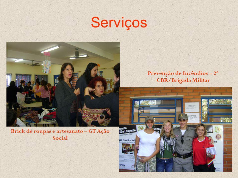 Serviços Prevenção de Incêndios – 2º CBR/Brigada Militar