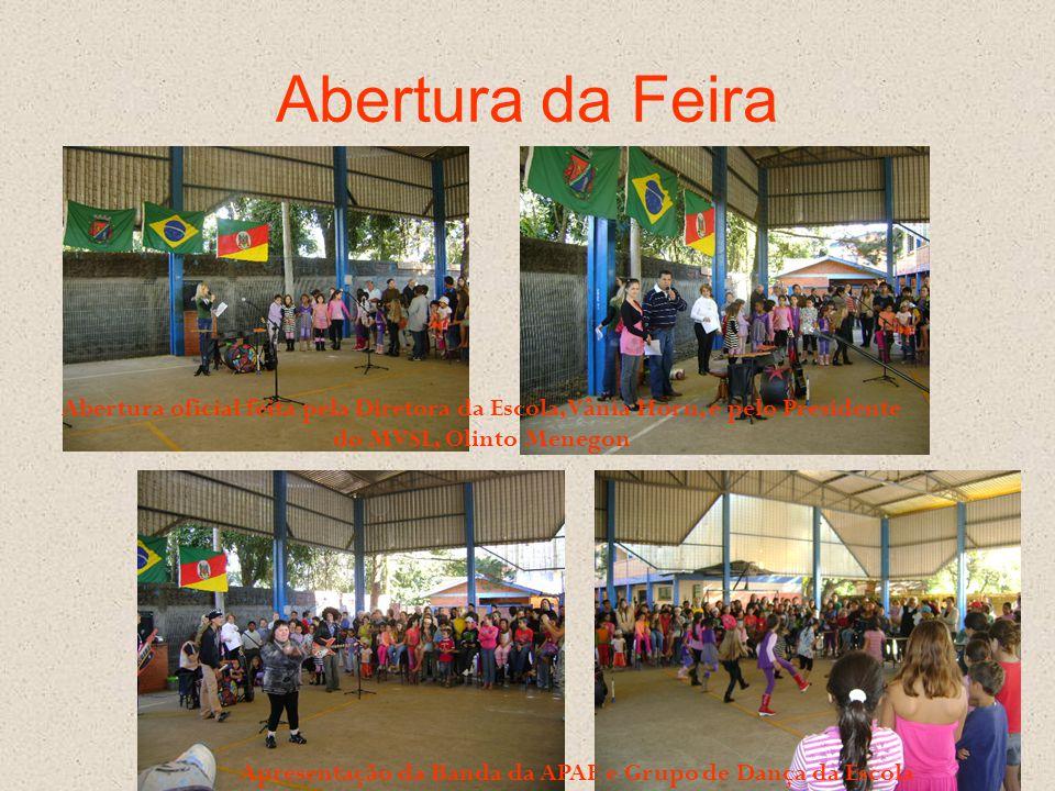 Apresentação da Banda da APAE e Grupo de Dança da Escola