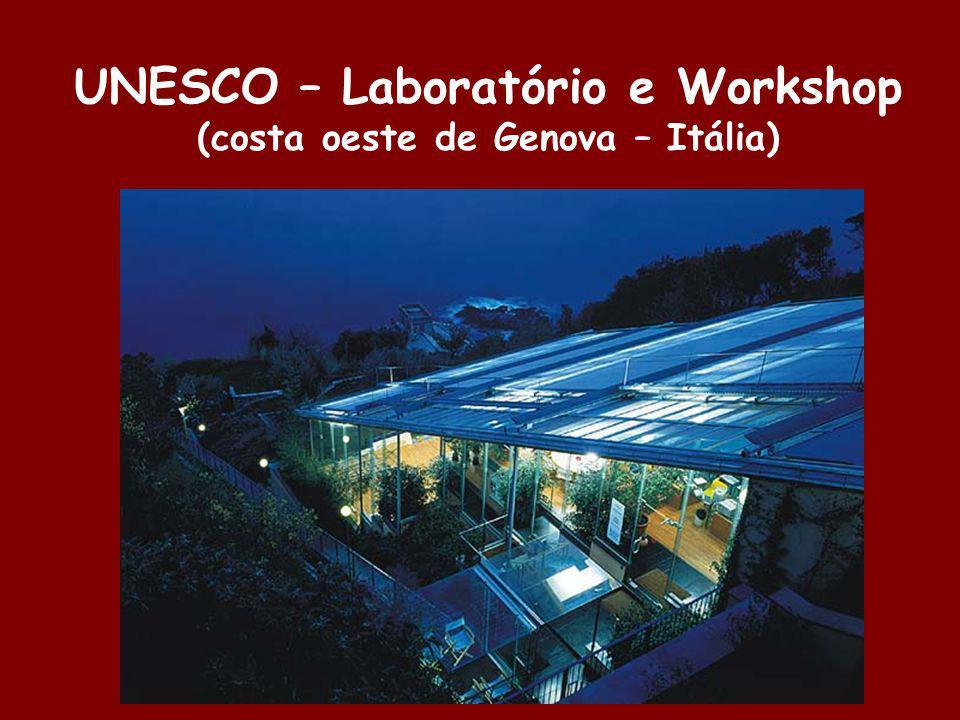 UNESCO – Laboratório e Workshop (costa oeste de Genova – Itália)
