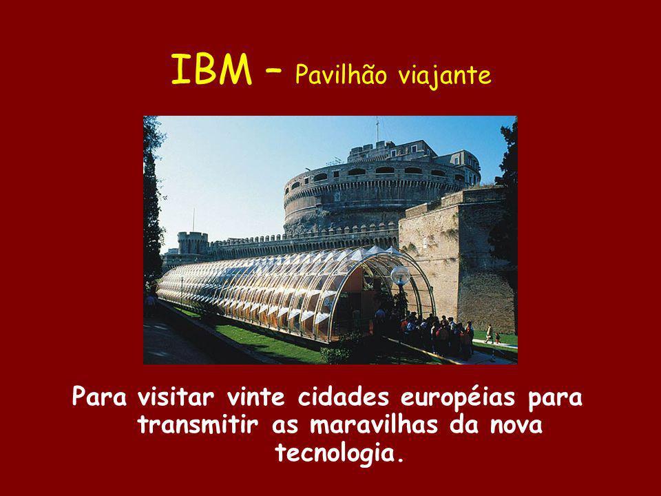 IBM – Pavilhão viajante