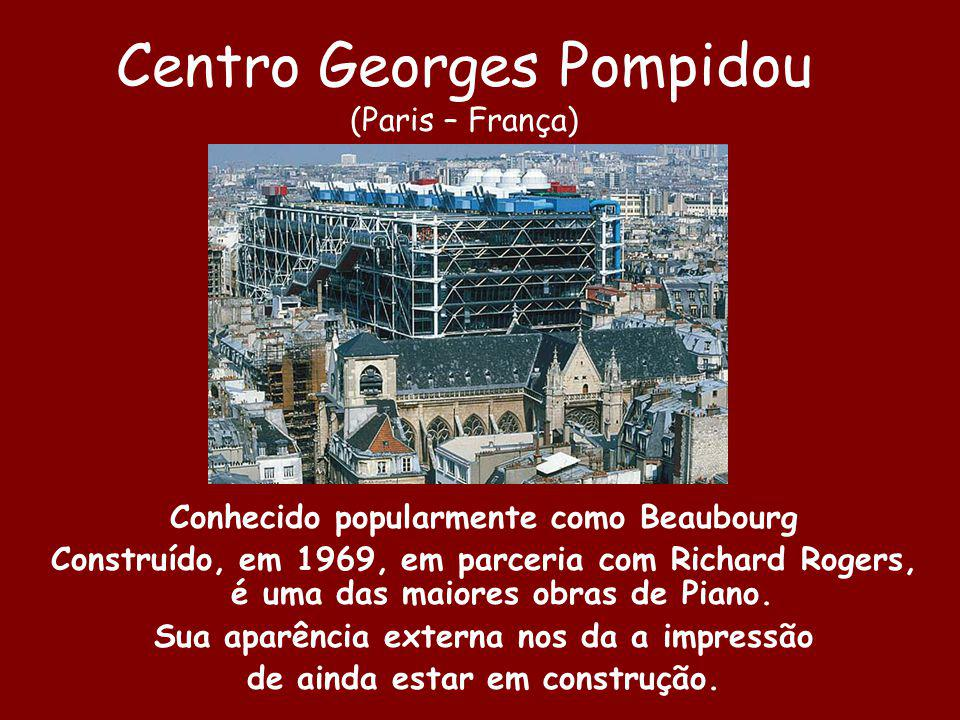 Centro Georges Pompidou (Paris – França)