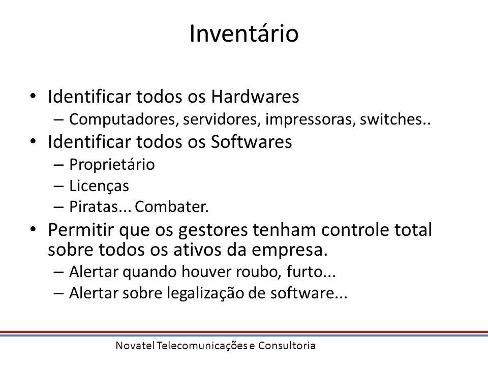Inventário Identificar todos os Hardwares