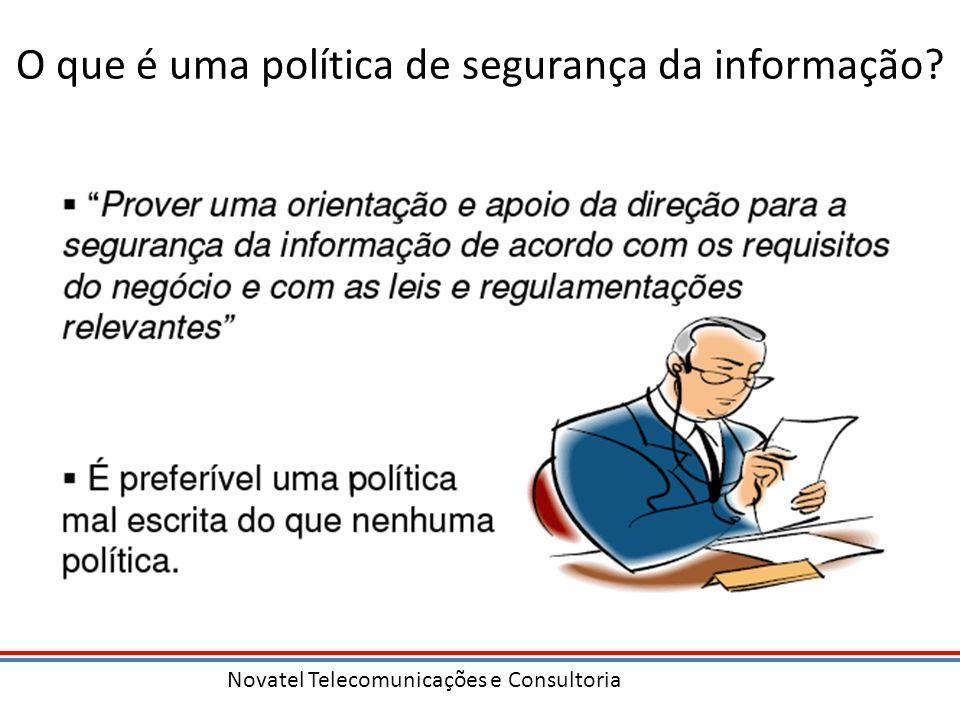 O que é uma política de segurança da informação