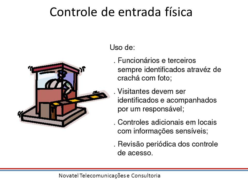 Controle de entrada física