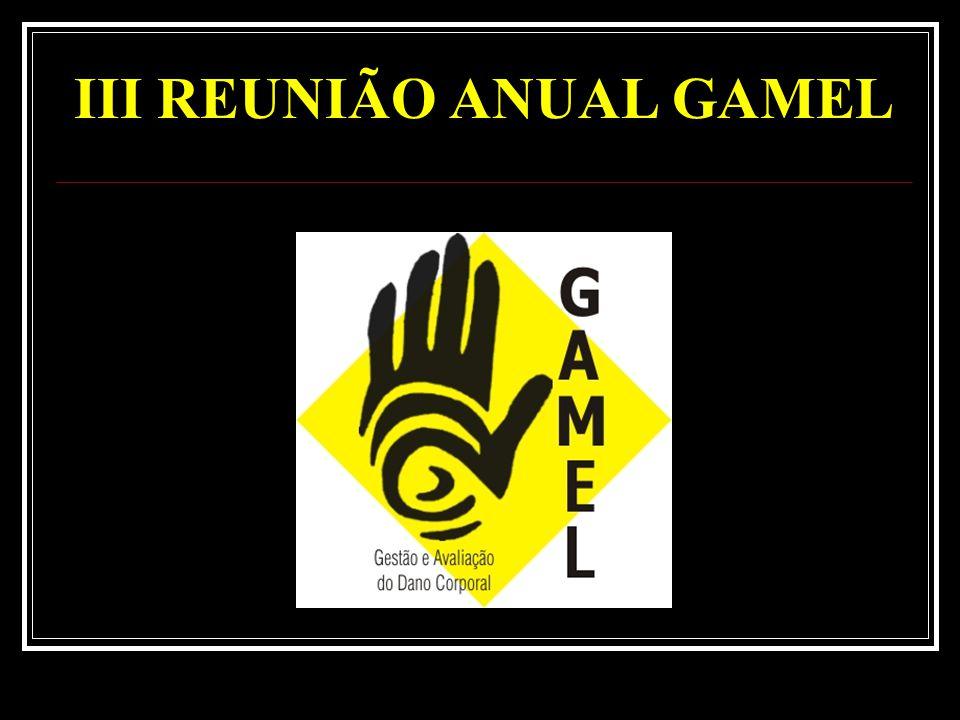 III REUNIÃO ANUAL GAMEL
