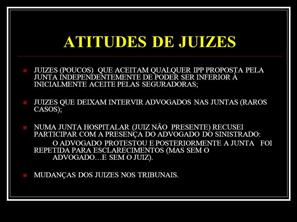ATITUDES DE JUIZES