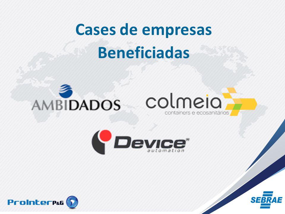 Cases de empresas Beneficiadas