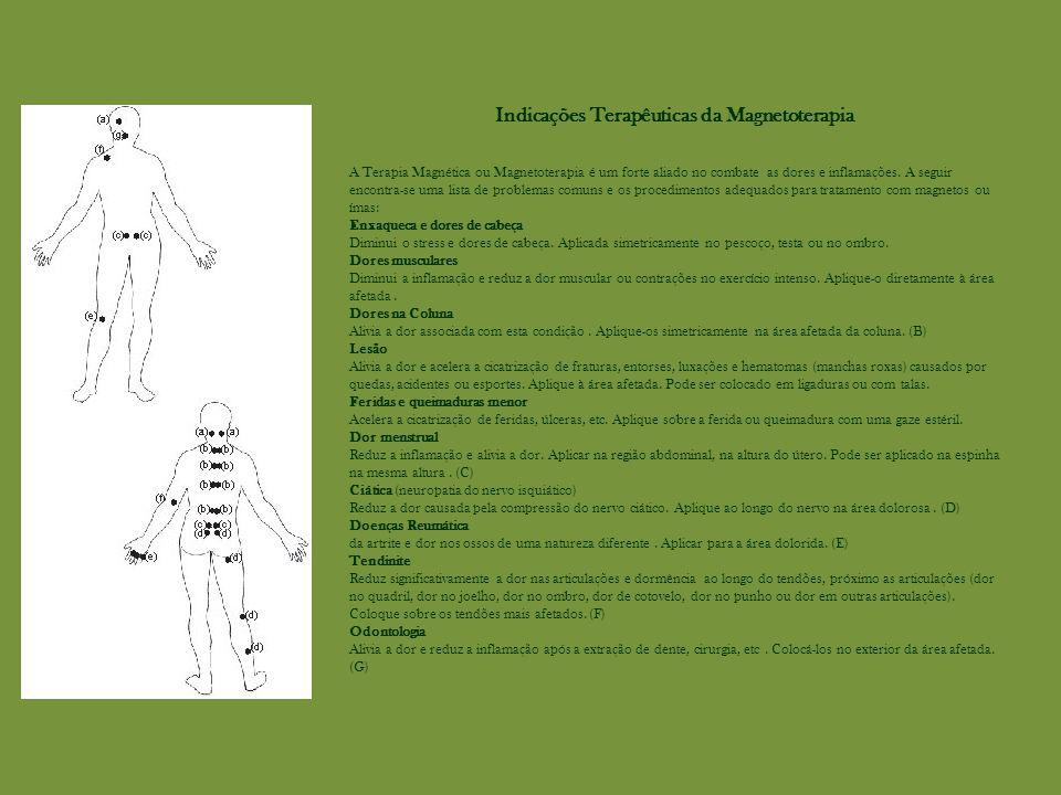 Indicações Terapêuticas da Magnetoterapia