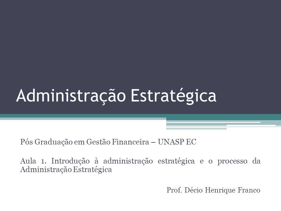 Administração Estratégica