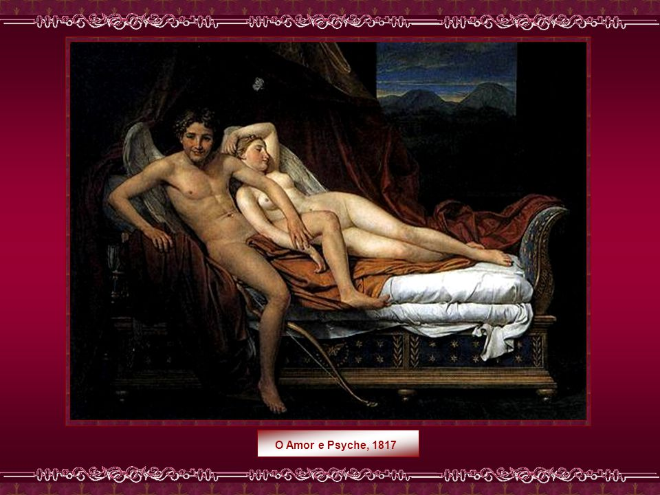O Amor e Psyche, 1817