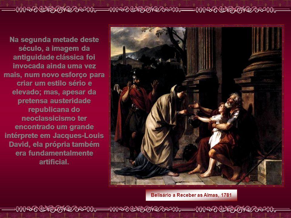 Belisário a Receber as Almas, 1781