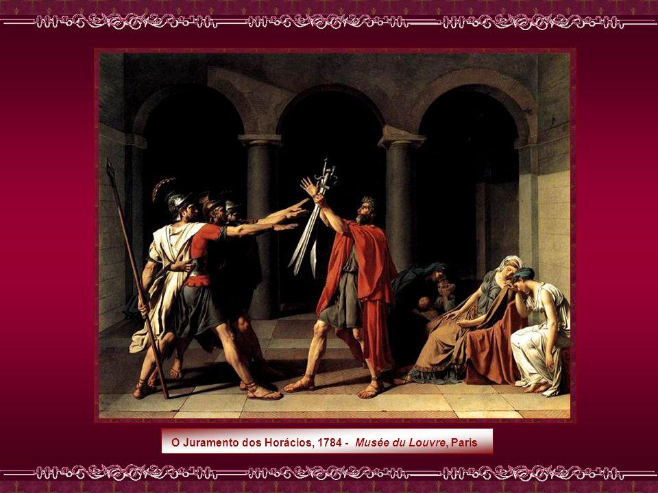 O Juramento dos Horácios, 1784 - Musée du Louvre, Paris