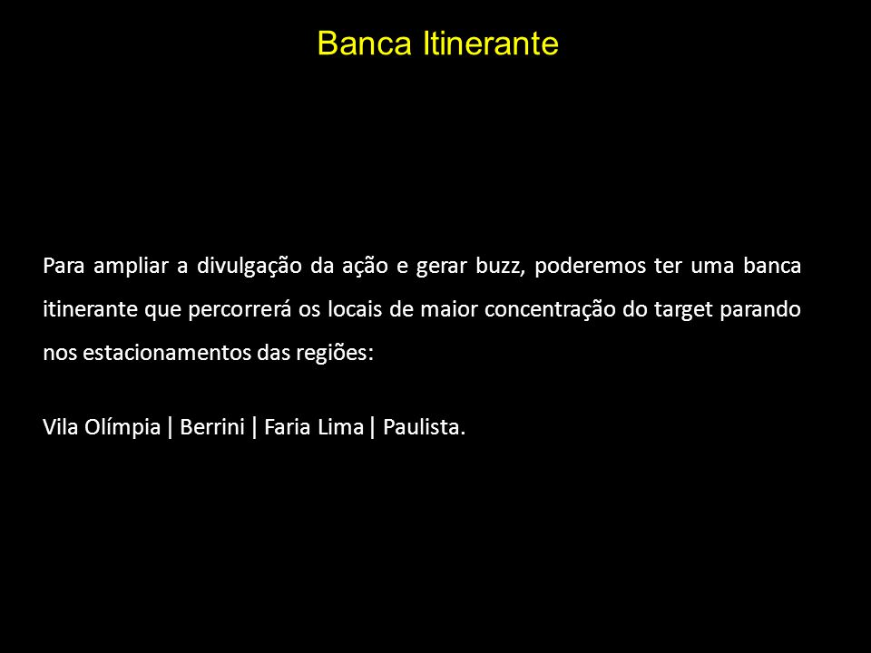 Banca Itinerante