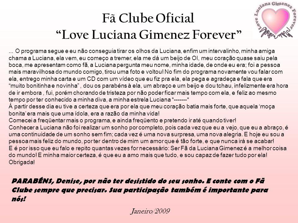 Love Luciana Gimenez Forever