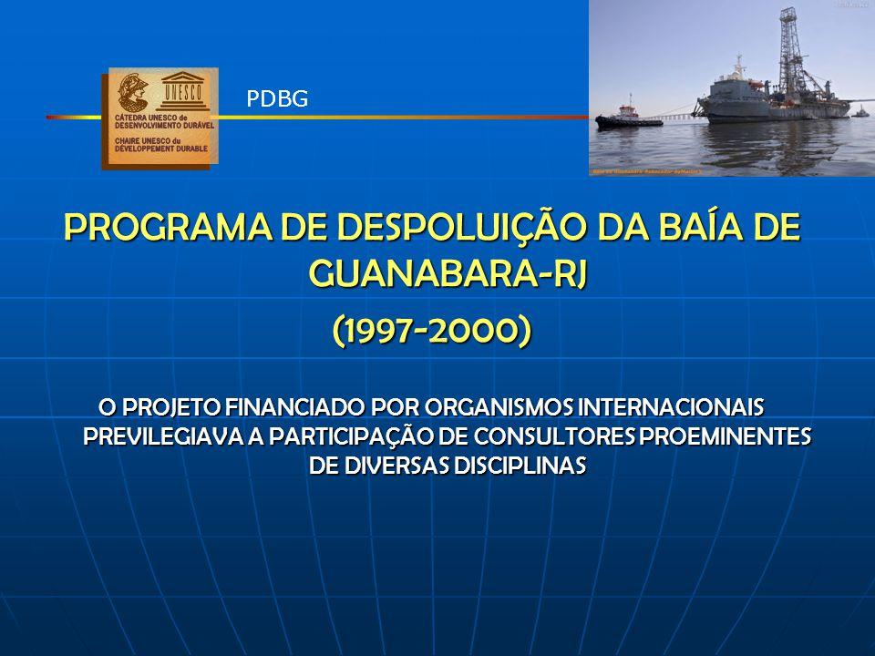 PROGRAMA DE DESPOLUIÇÃO DA BAÍA DE GUANABARA-RJ