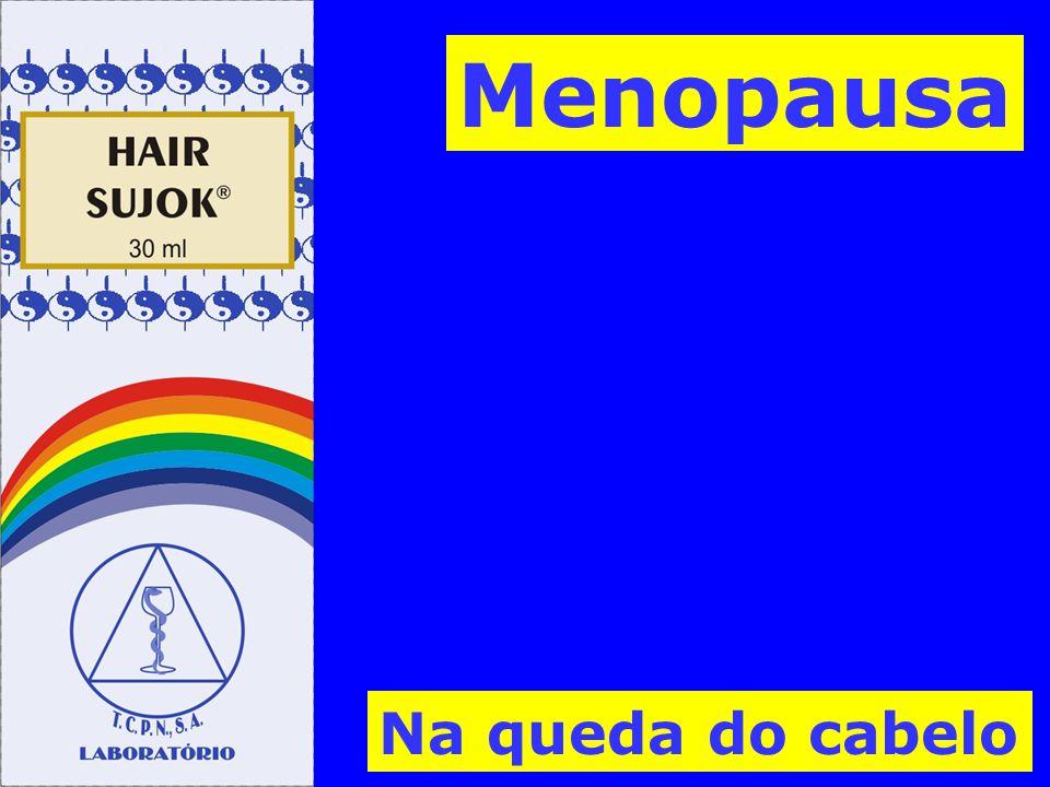 Menopausa Na queda do cabelo