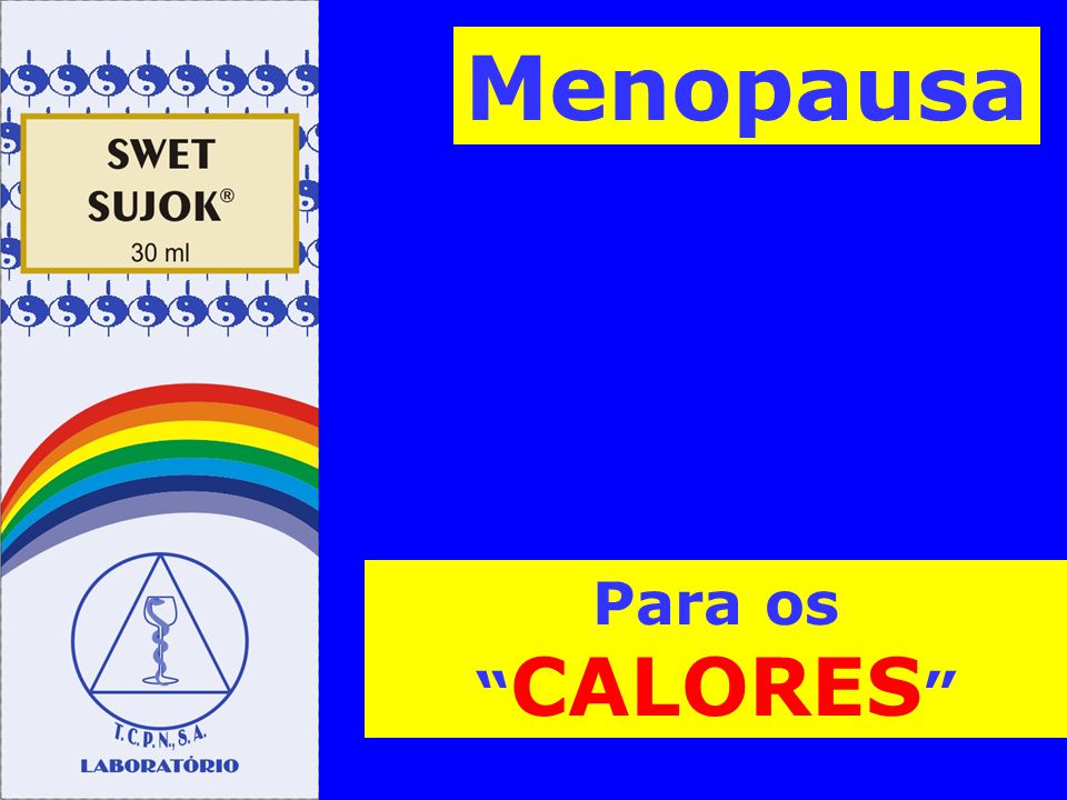 Menopausa Para os CALORES