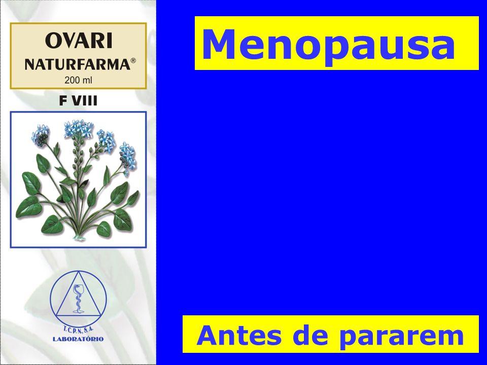 Menopausa Antes de pararem
