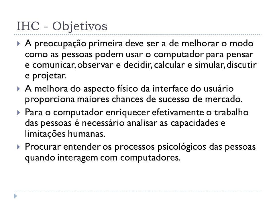 IHC - Objetivos