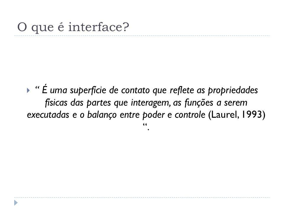 O que é interface