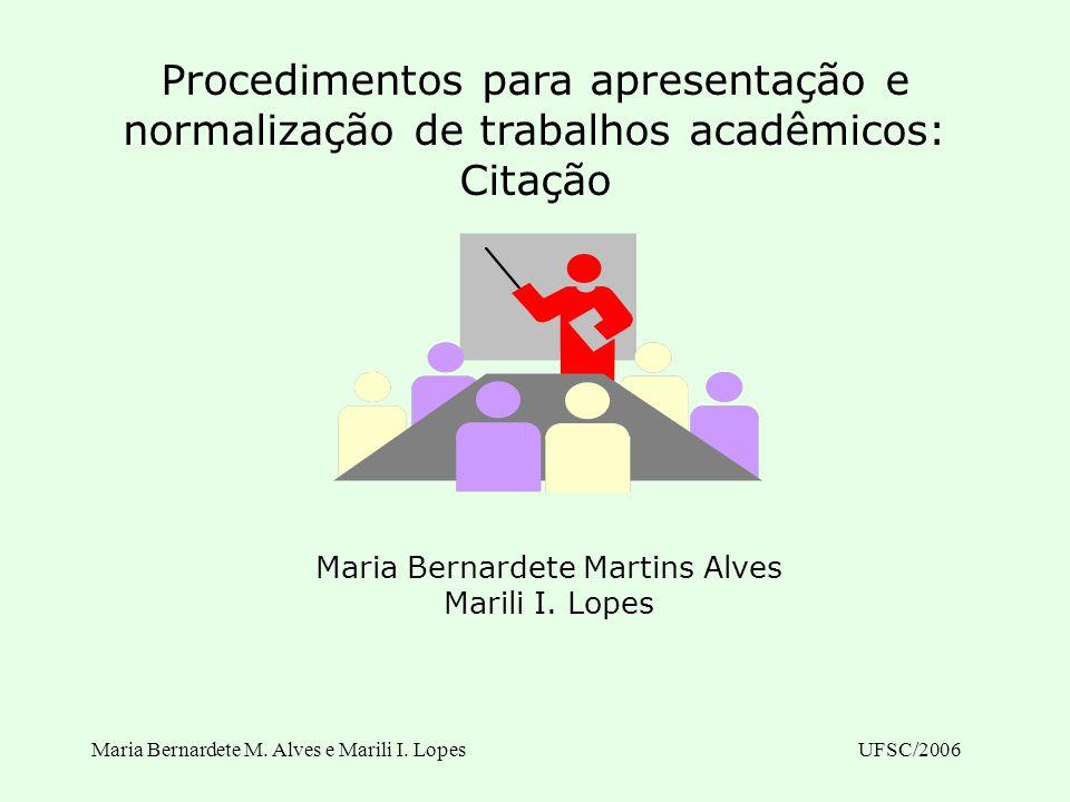 Maria Bernardete Martins Alves