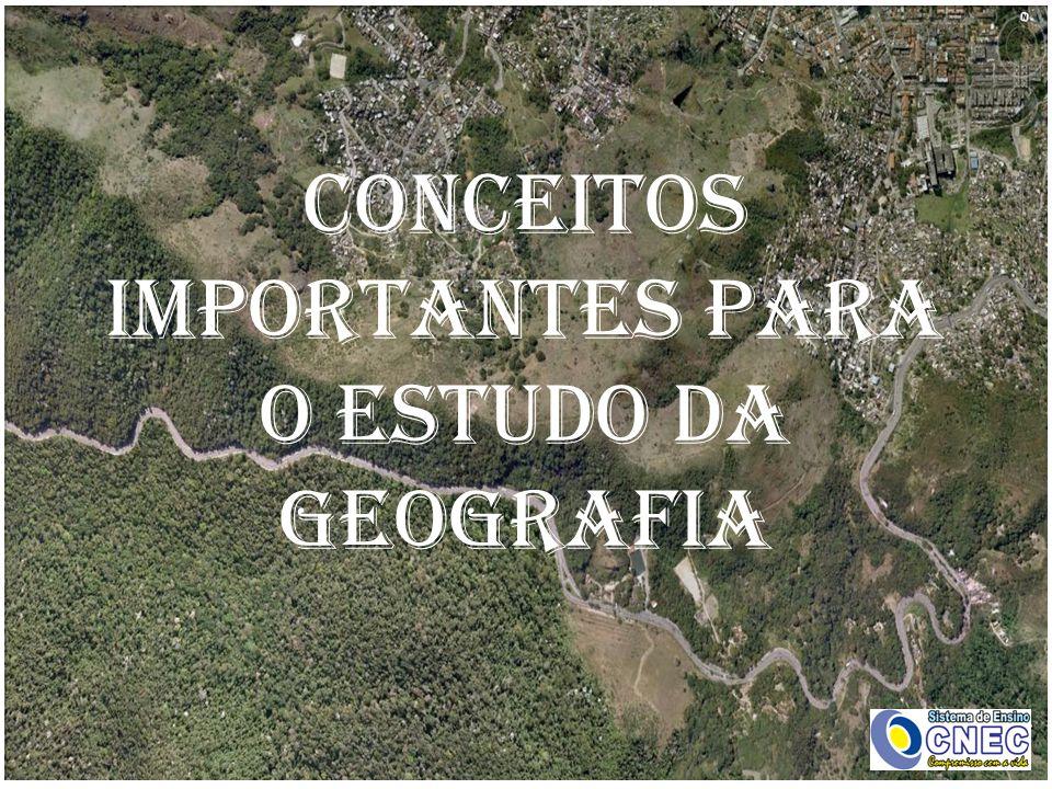conceitos importantes para o estudo da geografia