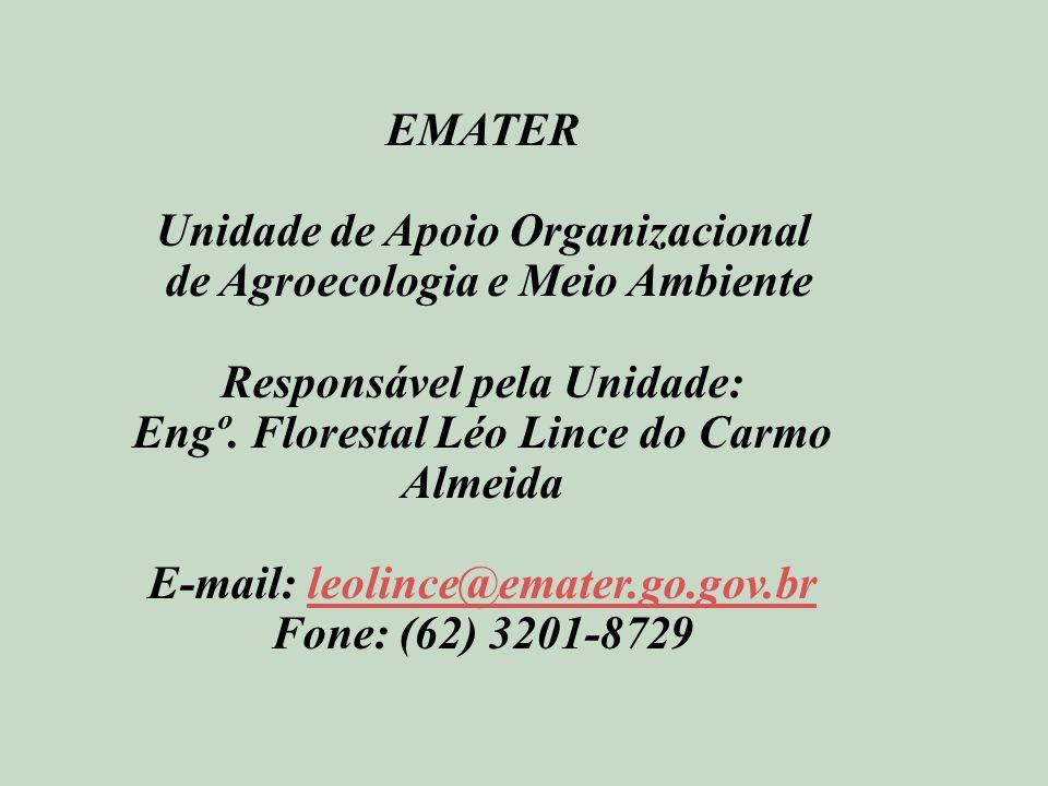 Unidade de Apoio Organizacional de Agroecologia e Meio Ambiente