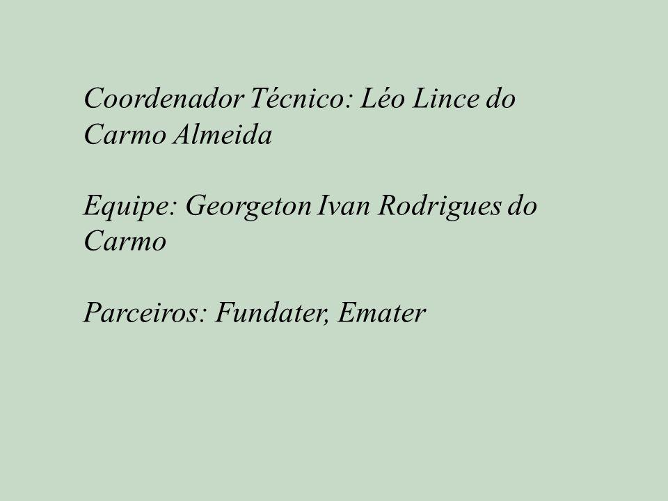 Coordenador Técnico: Léo Lince do Carmo Almeida