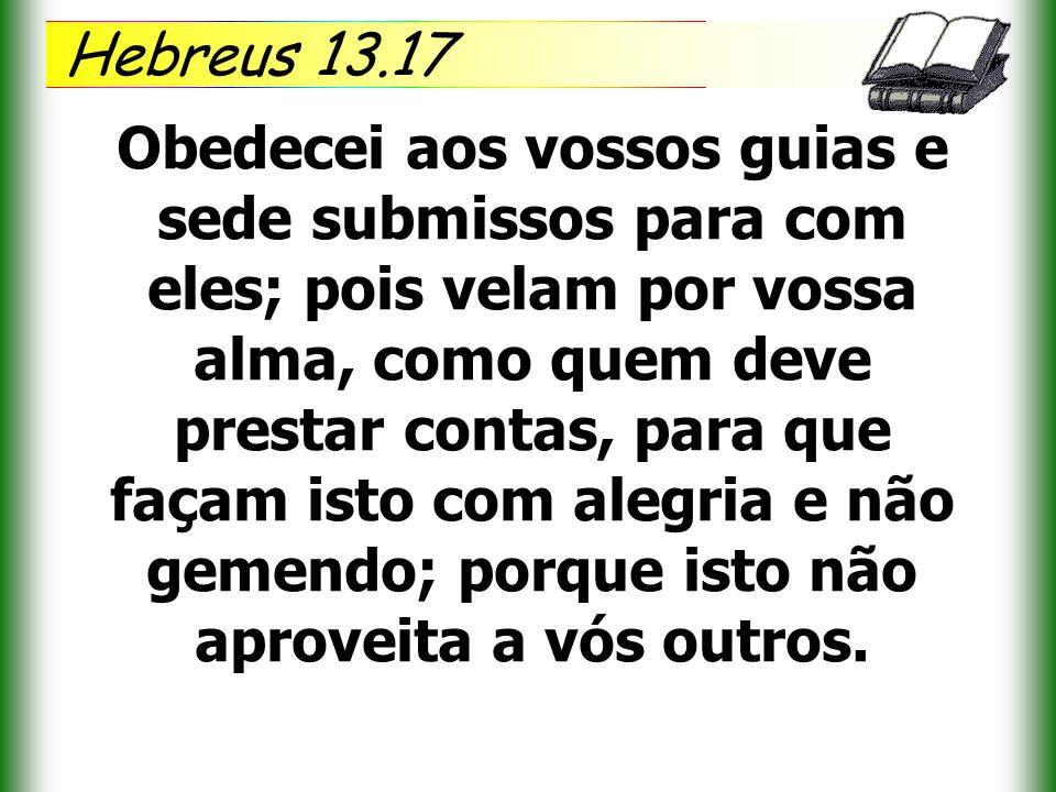 Hebreus 13.17