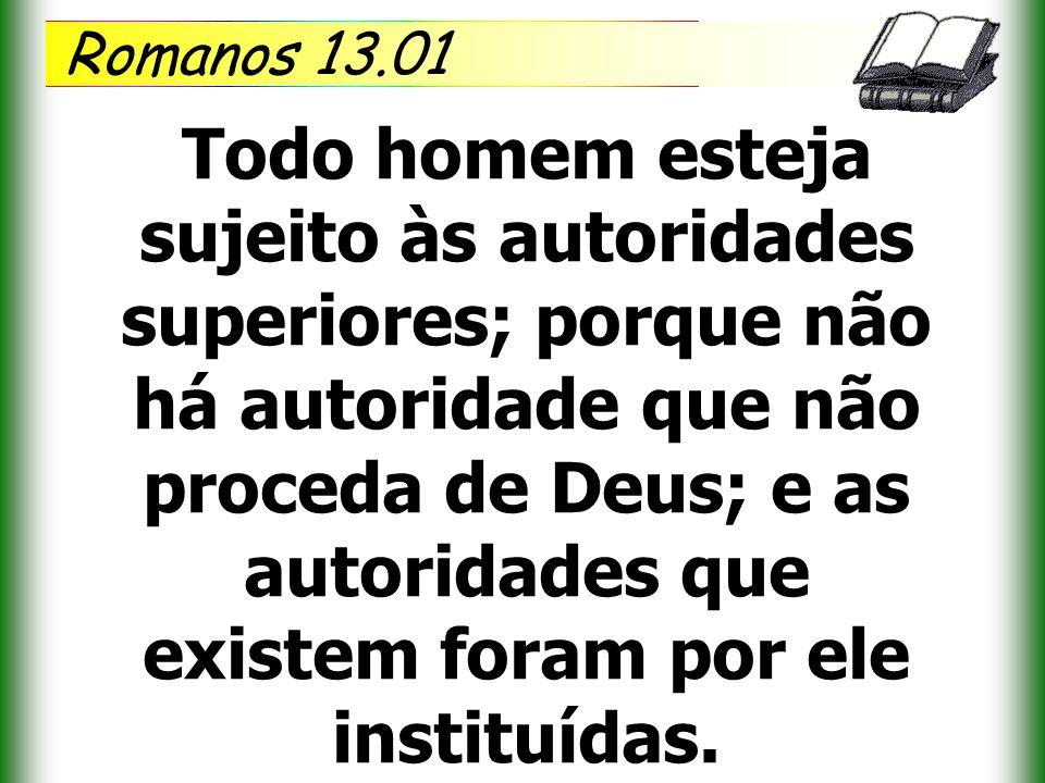 Romanos 13.01