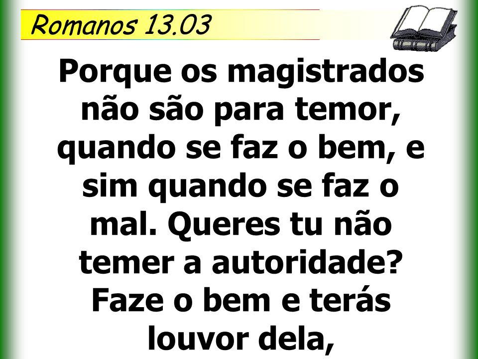 Romanos 13.03