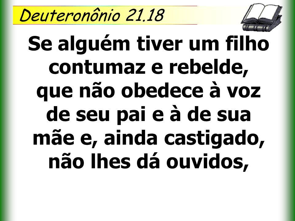 Deuteronônio 21.18